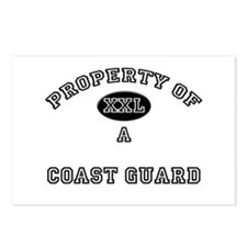 Property of a Coast Guard Postcards (Package of 8)