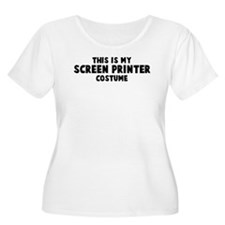 Screen Printer costume T-Shirt