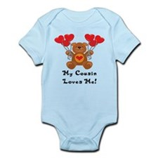 My Cousin Loves Me! Infant Bodysuit