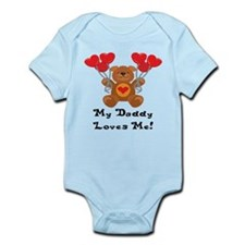 My Daddy Loves Me! Infant Bodysuit