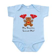 My Auntie Loves Me! Infant Bodysuit
