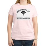 Property of a City Planner T-Shirt