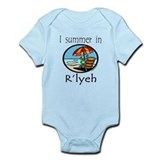 I summer in R'lyeh, cthulhu Infant Bodysuit