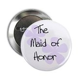 Maid Honor Lilac Button