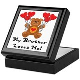 My Brother Loves Me! Keepsake Box