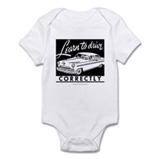 Learn To Drive Infant Bodysuit
