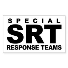 SRT Rectangle Decal