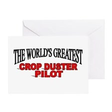 """""""The World's Greatest Crop Duster Pilot"""" Greeting"""