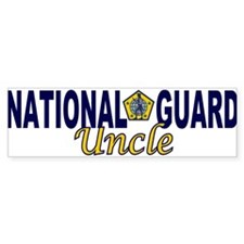 National Guard Uncle Bumper Bumper Sticker