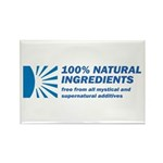 100% Natural Rectangle Magnet (100 pack)