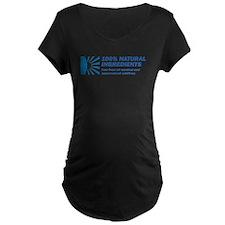 100% Natural Maternity Dark T-Shirt