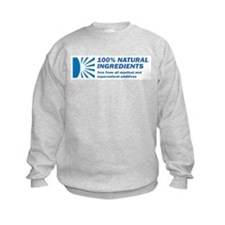 100% Natural Kids Sweatshirt