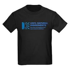 100% Natural Kids Dark T-Shirt