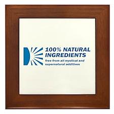 100% Natural Framed Tile