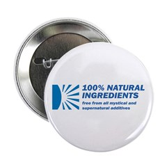 "100% Natural 2.25"" Button (100 pack)"