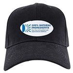 100% Natural Black Cap