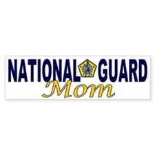 National Guard Mom Bumper Bumper Sticker