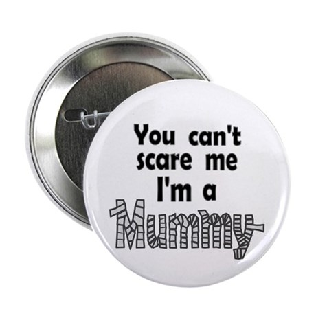 "Scary Mummy 2.25"" Button (100 pack)"