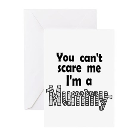 Scary Mummy Baby Shower Invites (Pk of 10)
