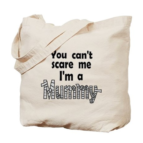 Scary Mummy Tote Bag