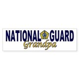 National Guard Grandpa Bumper Bumper Sticker