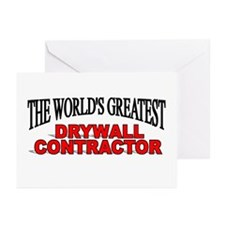 """The World's Greatest Drywall Contractor"" Greeting"