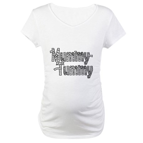 Mummy Tummy Halloween Maternity T-Shirt