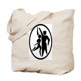 Latin Dancers Tote Bag