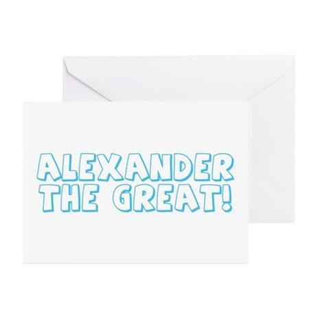 Alexander the Great Greeting Cards (Pk of 10)