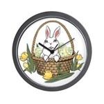 Easter Bunny Gifts Wall Clock