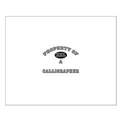 Property of a Calligrapher Posters