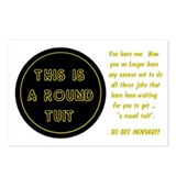 Round Tuit - Postcards (Package of 8)