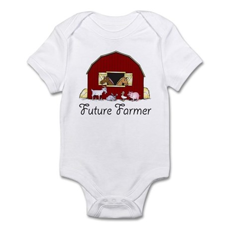 Future Farmer Barnyard Infant Bodysuit