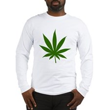 Marijuana Leaf Long Sleeve T-Shirt