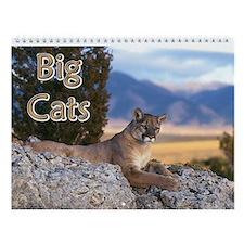 Big Exotic Cats Wall Calendar