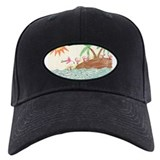 Flamingo Island Baseball Hat