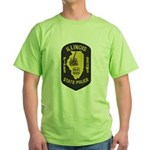 Illinois SP Pipes & Drums Green T-Shirt