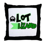 Lot Lizard Tshirts and Gifts Throw Pillow