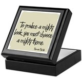 Herman Melville Quote Keepsake Box