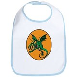 The Halloween monster Bib