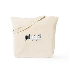 got yaya? Tote Bag