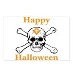 Masons Halloween Skull Postcards (Package of 8)