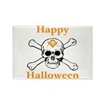 Masons Halloween Skull Rectangle Magnet (100 pack