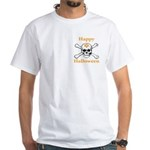 Masons Halloween Skull White T-Shirt