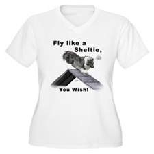 Shelties Fly- Agility T-Shirt
