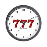 777 Wall Clock
