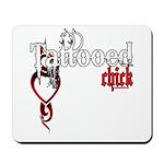 Tattooed Chick Mousepad