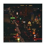 Las Vegas Strip Tile Coaster