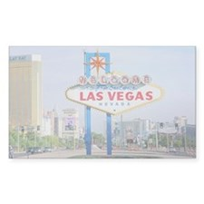 Las Vegas Sign Logo Rectangle Decal