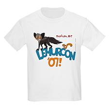 Lemurcon 2007 Kids Light (White/Gray) T-Shirt